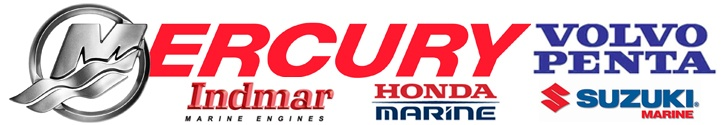 Honda, Mercury, Volvo, Suzuki, Evinrude, Indmar Service and Parts